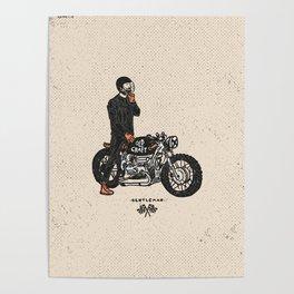 Caferacer Gentleman Poster