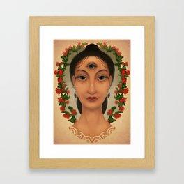 Mesmerelda Framed Art Print
