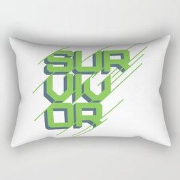 """""""Survivor"""" Winner's Circle Rectangular Pillow"""