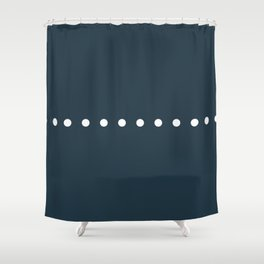 Dots Storm Shower Curtain