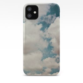 January Clouds iPhone Case