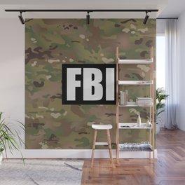 FBI (Black) Wall Mural