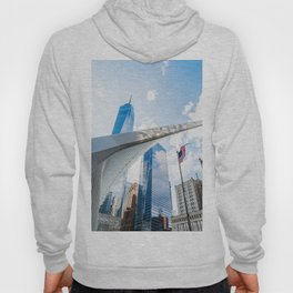 One World Trade Center and Oculus in New York Hoody