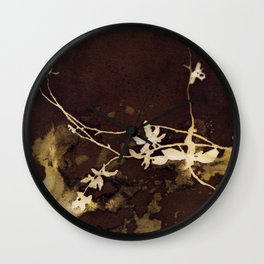 Autumn Vines Wall Clock