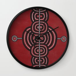 """Uluru"" by ICA PAVON Wall Clock"