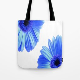 The blue daisies Tote Bag
