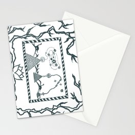 The Canvas of Eras Stationery Cards