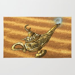 Magic Genie Lamp Rug