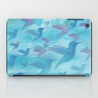 wings iPad Cases featuring Wings by sandesign