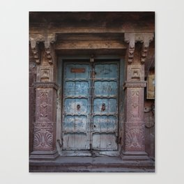 India Doors Canvas Print