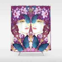 Nouveau Shower Curtain