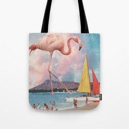 Flamingo Playground Tote Bag