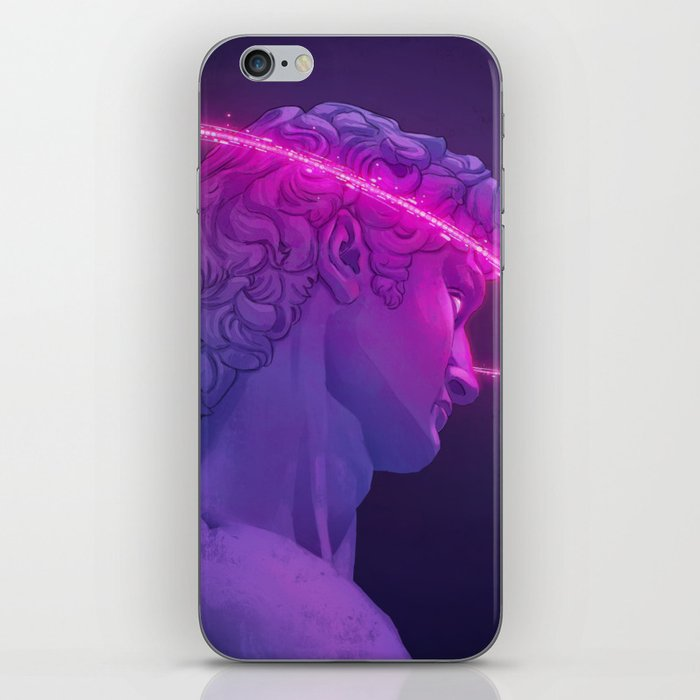 Vaporwave Aesthetics iPhone Skin