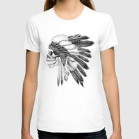 native T-shirts featuring Native American by Motohiro NEZU