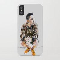 kendrick lamar iPhone & iPod Cases featuring Kendrick Lamar by Aleksandra Stanglewicz