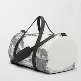 Palms and Mountain Duffle Bag