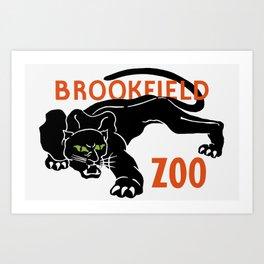 Brookfield Zoo -- WPA Art Print