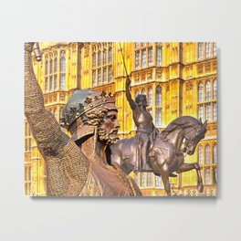 King Richard The Lion-Heart Metal Print