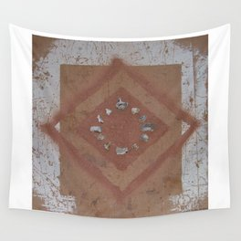 Stones and Sawdust 02 Wall Tapestry
