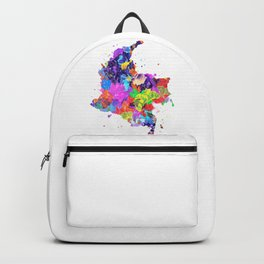 Colombia Map Backpack