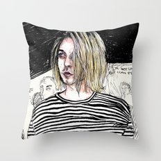 I'm not like them, but i can pretend. -  Kurt c Throw Pillow