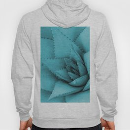 Agave cactus blossom turquoise color #society6 Hoody