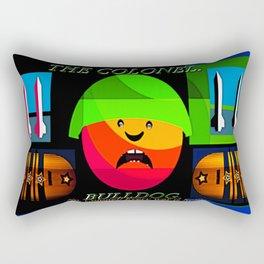 "Colonel ""Bulldog""! Rectangular Pillow"