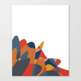 Spilled. Canvas Print