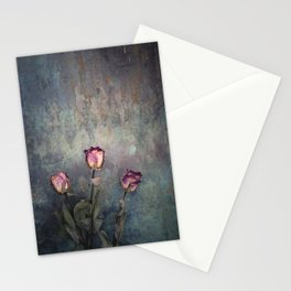 Three Dried Roses III Stationery Cards