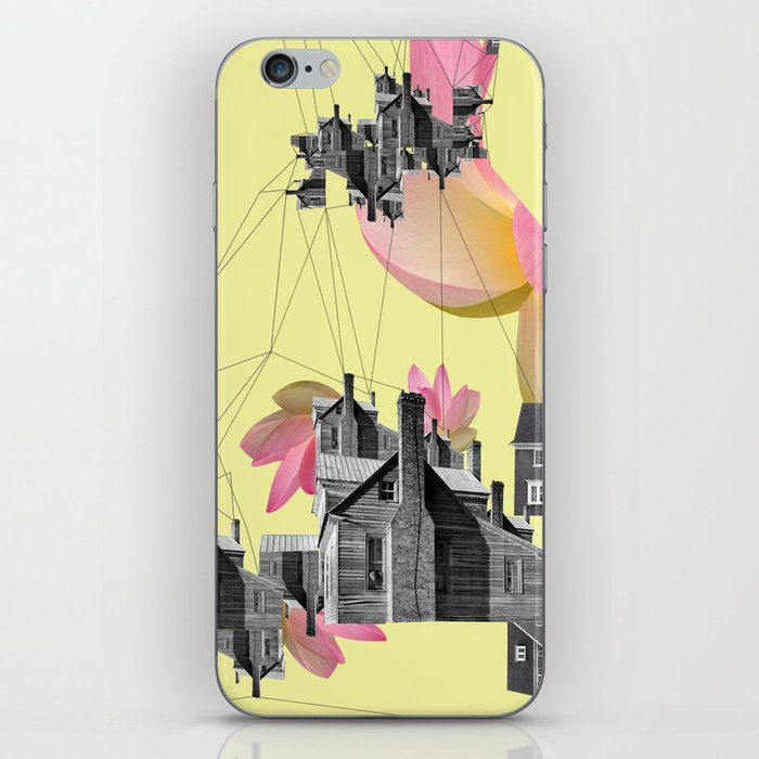 Filled with city iPhone Skin