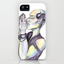 Pr(e)y iPhone Case