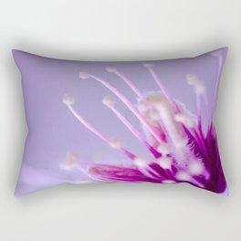 Purple Bloom Rectangular Pillow