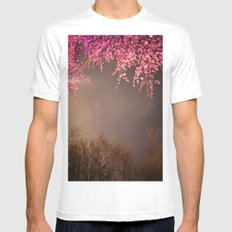 Being Open White MEDIUM Mens Fitted Tee