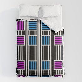 Pop Lines Comforters
