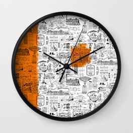 Looking Back to the Future Wall Clock