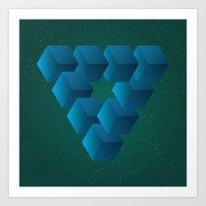 Penrose No. 1 Art Print