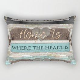 Home Sweet Home Series Rectangular Pillow
