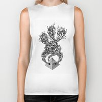 pyramid Biker Tanks featuring Pyramid by Vera Moire