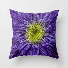 purple explosion Throw Pillow