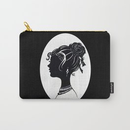 Old Fashioned Vanity Carry-All Pouch