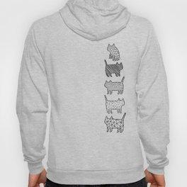 Pattern cats Hoody