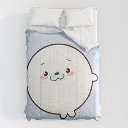 Baby Seal Kawaii Comforters