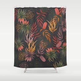 Magical garden pattern Shower Curtain