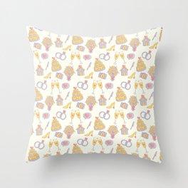 Wedding Pattern Throw Pillow