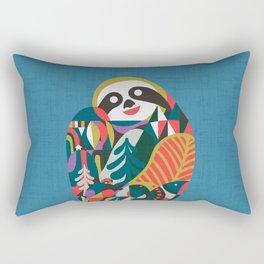 Nordic Sloth Rectangular Pillow