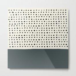 Juniper x Dots Metal Print