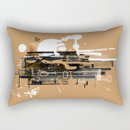 """""""Four Tet"""" Graphic Art Print Rectangular Pillow"""