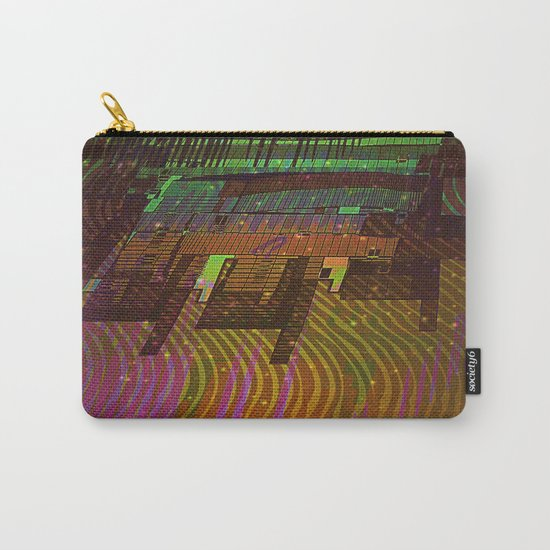 Building 08-07-16 / COSMIC MIRROR at NIGHT Carry-All Pouch