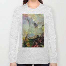 Peony foam inside exploded with joy Long Sleeve T-shirt