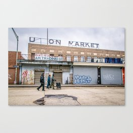 We Run These Streets Canvas Print